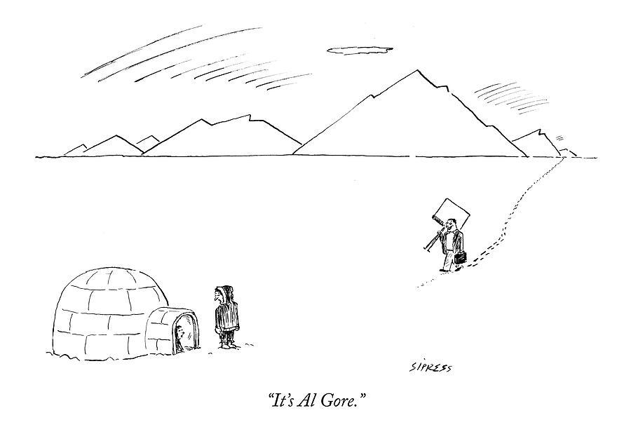 Its Al Gore Drawing by David Sipress