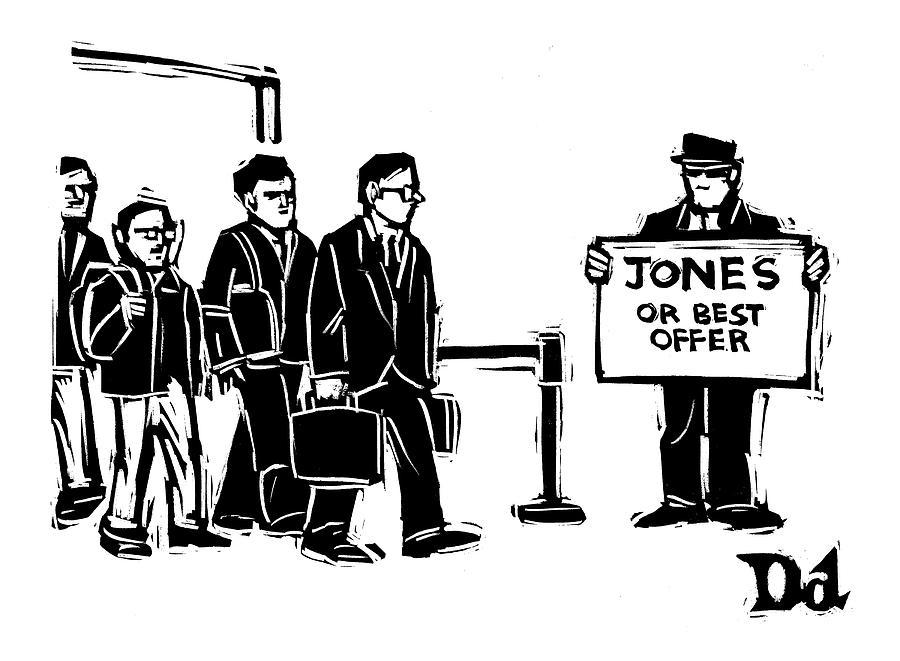 New Yorker June 6th, 2005 Drawing by Drew Dernavich