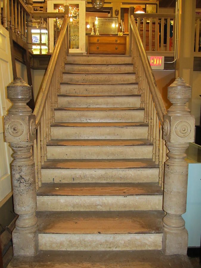 1800 S Vintage Stairs Photograph By Donna Wilson