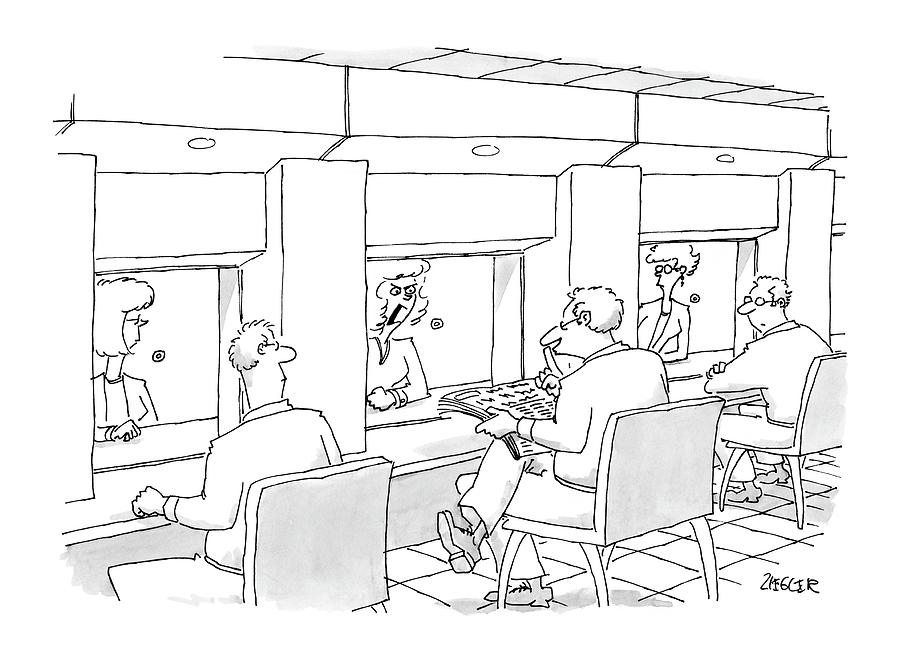 New Yorker October 4th, 2004 Drawing by Jack Ziegler