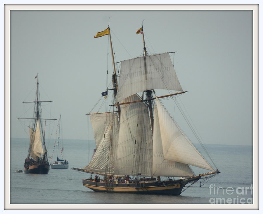 Transportation Photograph - 1812 Pride Of Baltimore II by Marcia Lee Jones