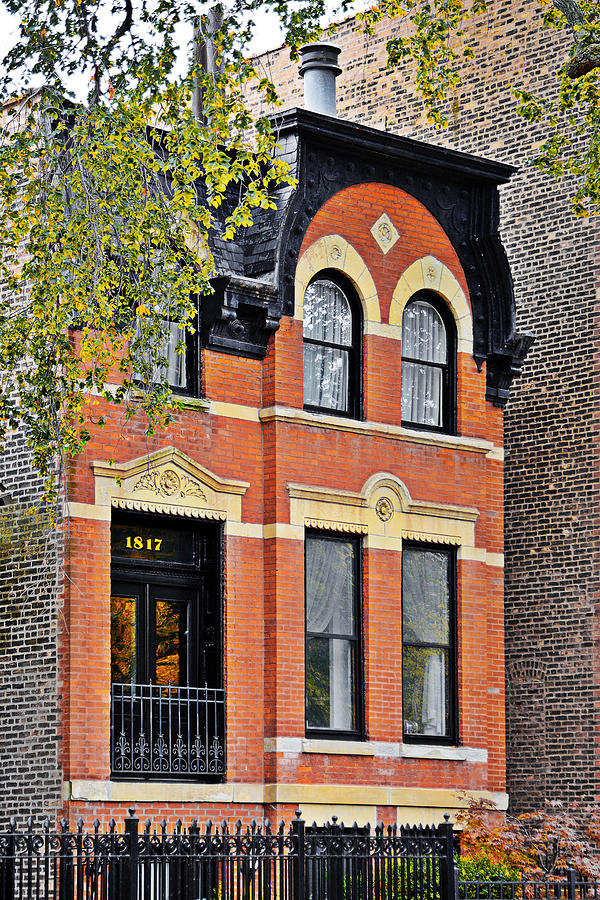 Chicago Photograph - 1817 N Orleans St Old Town Chicago by Christine Till