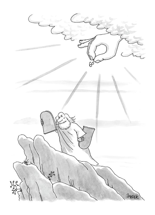 New Yorker September 4th, 2000 Drawing by Jack Ziegler