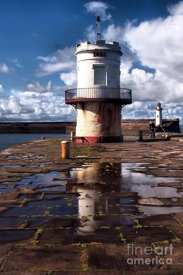 Lighthouse Photograph - 1841 by Wobblymol Davis