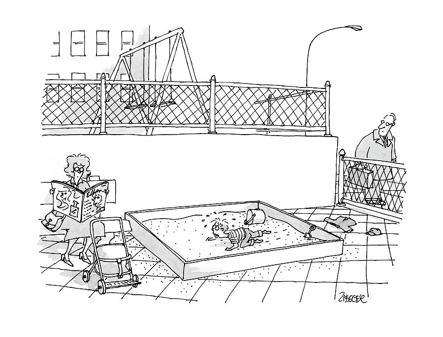 New Yorker May 8th, 2000 Drawing by Jack Ziegler