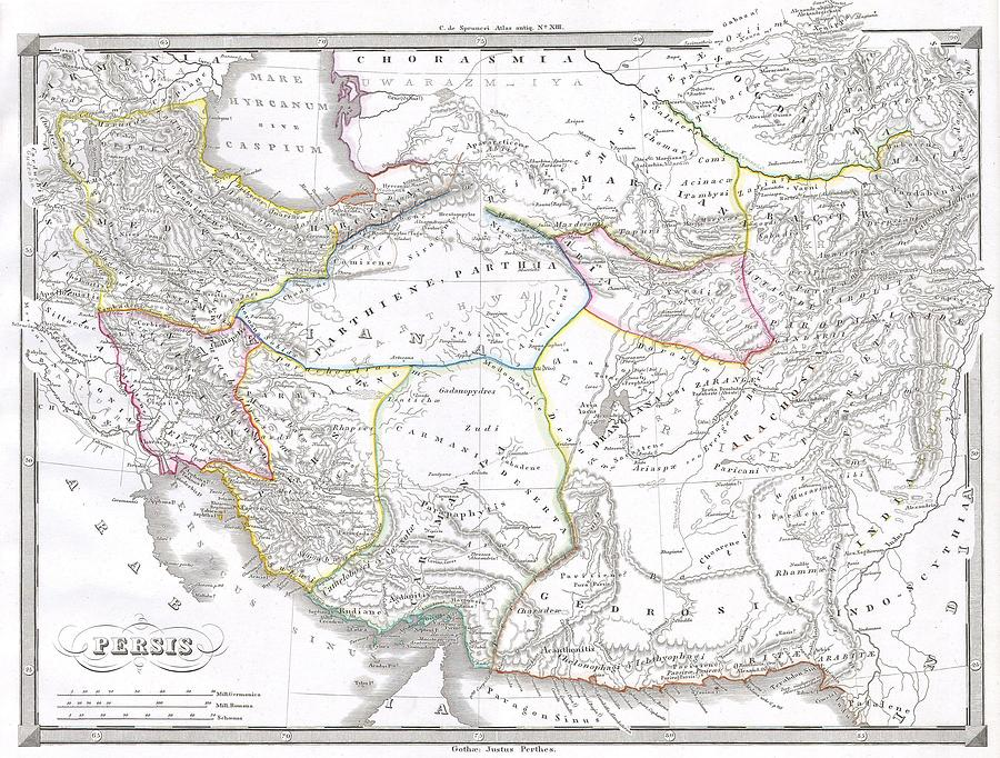1855 spruneri map of persia iran iraq kuwait photograph by paul fearn abstract photograph 1855 spruneri map of persia iran iraq kuwait by paul fearn gumiabroncs Images