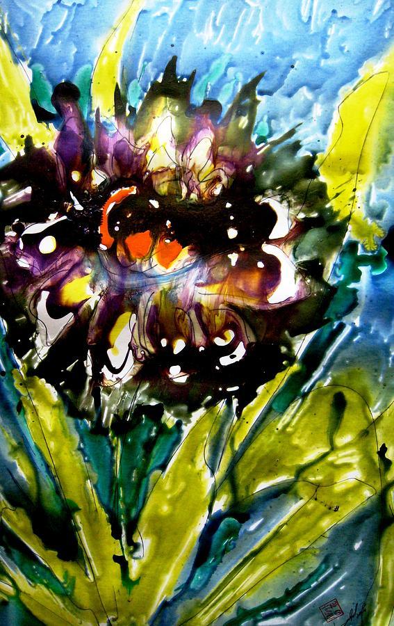Heavenly Flowers Painting