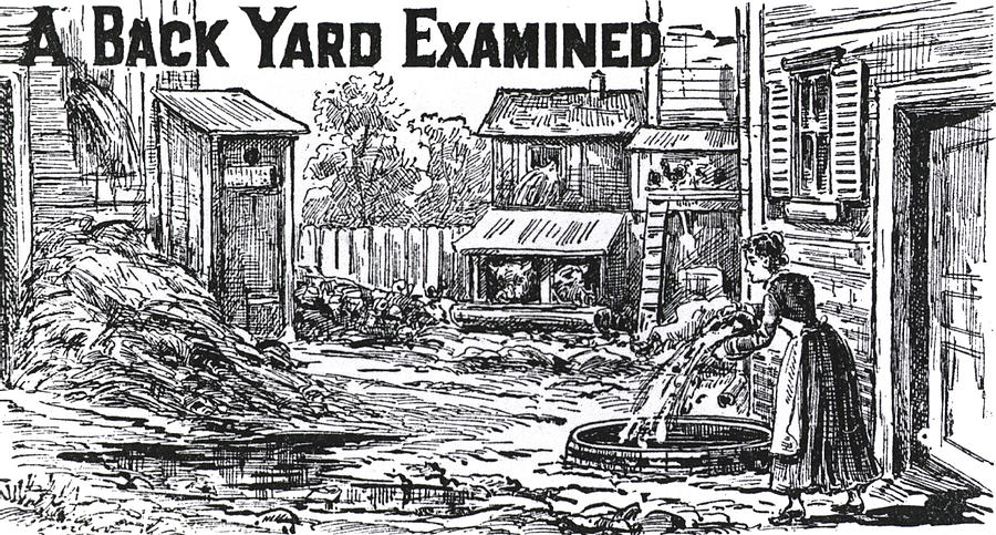 1880 Hygiene Public Service Ad Photograph By Daniel Hagerman