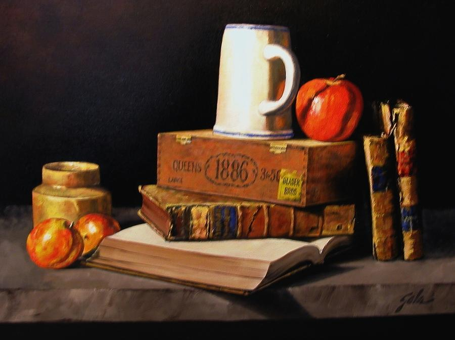 Still Life Painting - 1886 by Jim Gola