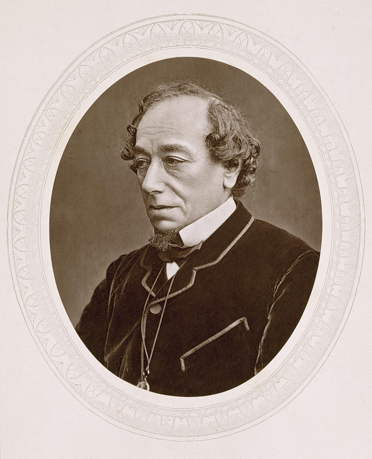 19th Century Photograph - Benjamin Disraeli (1804-1881) by Granger
