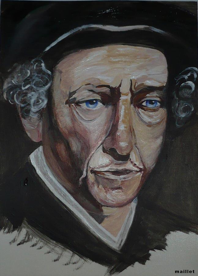 Bob Dylan Painting - Bob Dylan by Laurette Maillet