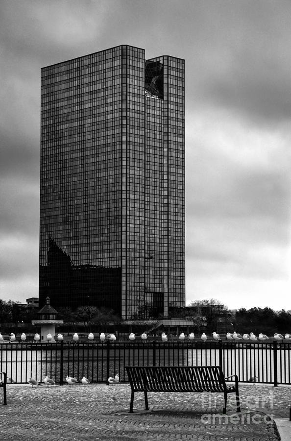 Toledo Photograph - City Skyline by Michael Shake