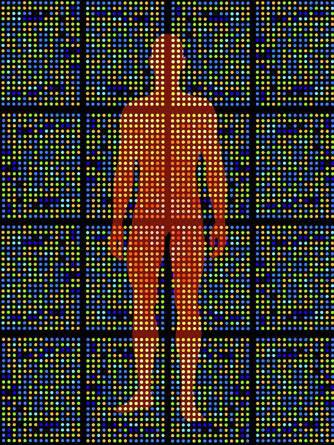 Analysis Photograph - Genetic Research by Pasieka