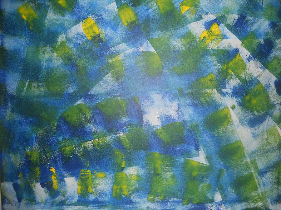 Abstrakci Painting - Mir Abstrakci by Luba Ivanova