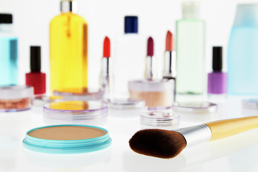 Still Life Of Beauty Products Photograph by Stephen Smith