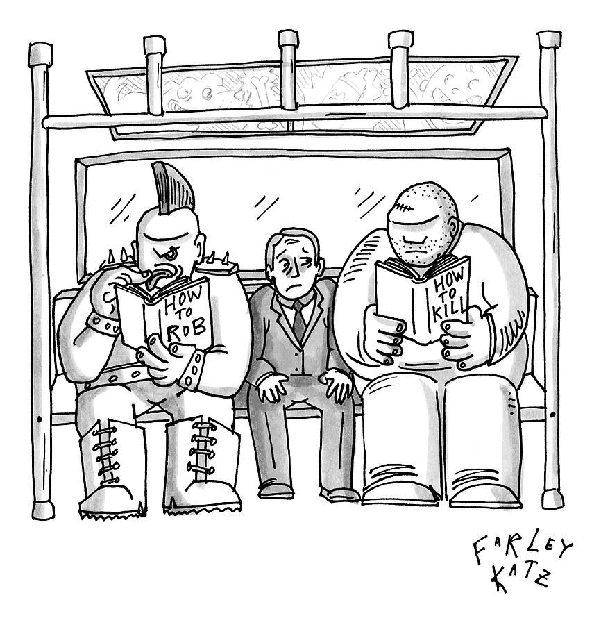 New Yorker April 20th, 2009 Drawing by Farley Katz