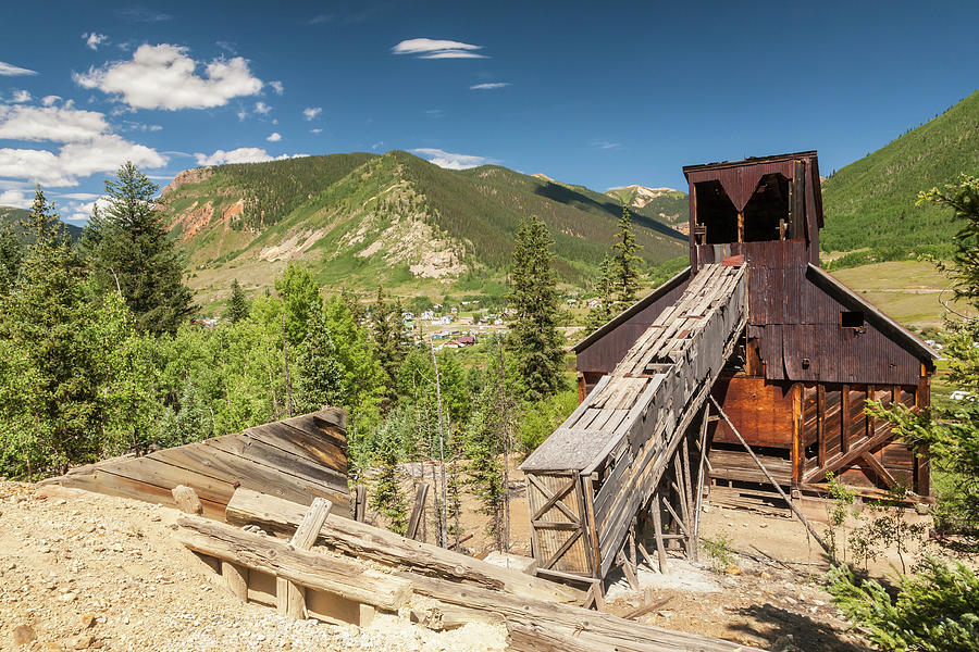 Abandoned Photograph - Usa, Colorado, San Juan Mountains by Jaynes Gallery