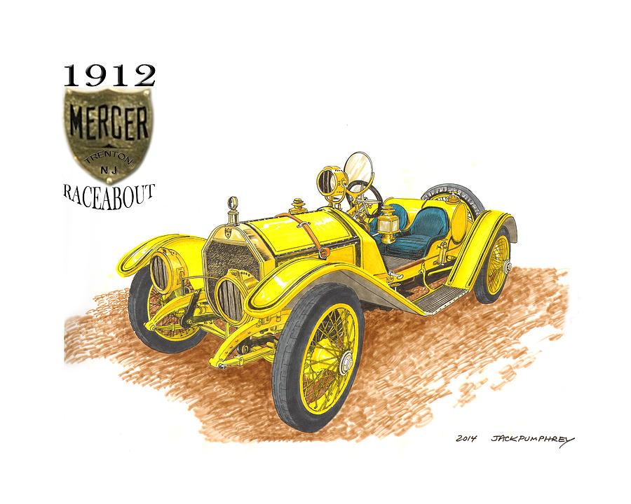 1911 1912 Mercer Raceabout R 35 by Jack Pumphrey
