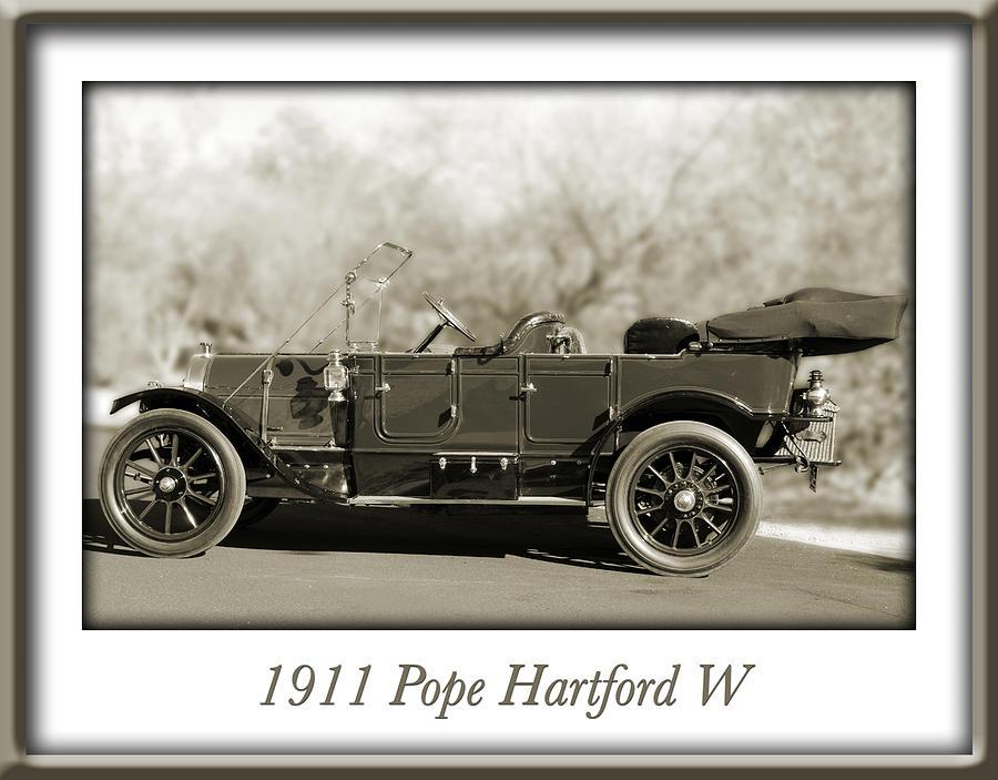 Pope Hartford Photograph - 1911 Pope Hartford W by Jill Reger
