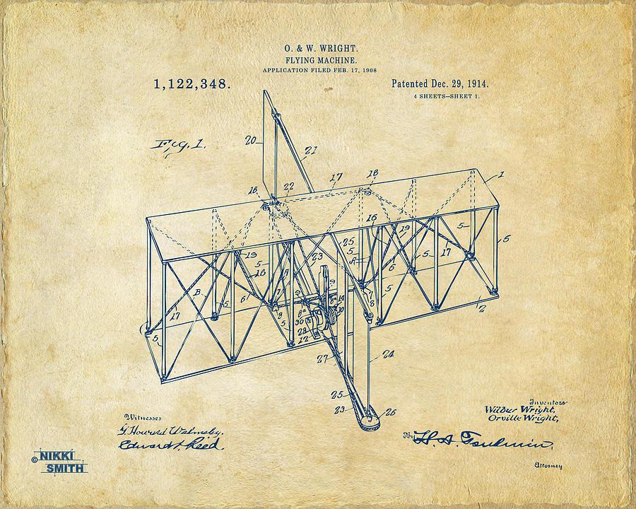 Wright Brothers Art | Fine Art America