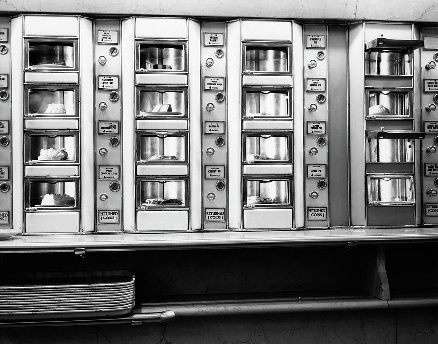 Horizontal Photograph - 1920s 1930s 1940s 1950s Series Automat by Vintage Images