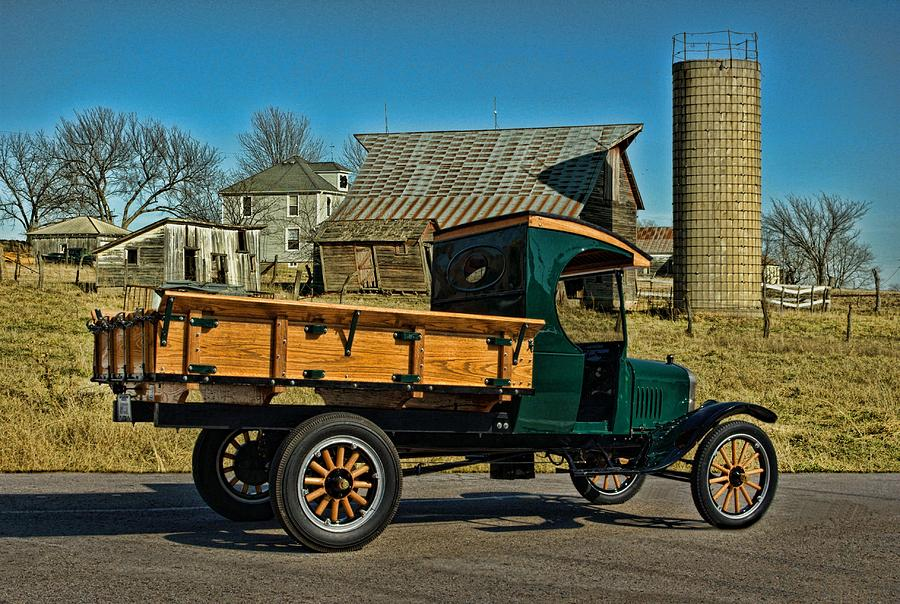 1923 ford model tt one ton truck tim mccullough 1923 ford model tt one ton truck photograph by tim mccullough