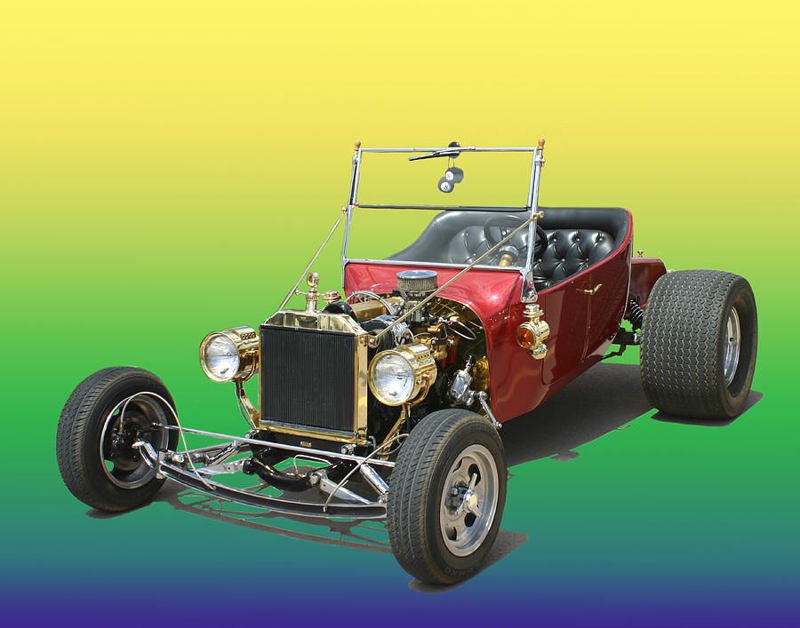 1923  Ford T Bucket  Photograph by Jack Pumphrey