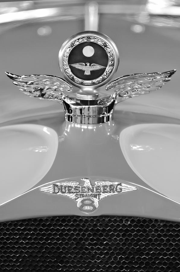 1926 Duesenberg Model A Photograph - 1926 Duesenberg Model A Boyce Motometer 2 by Jill Reger
