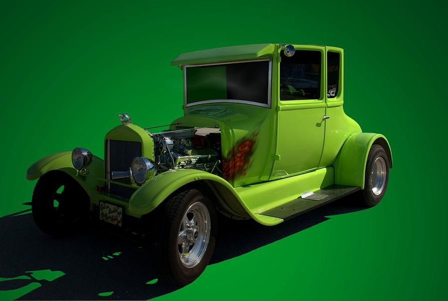 1926 Ford Model T Hot Rod Photograph by TeeMack