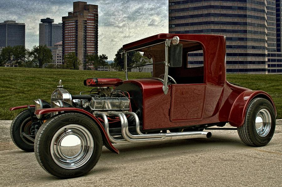 1927 Ford High Top T Hot Rod Photograph by Tim McCullough