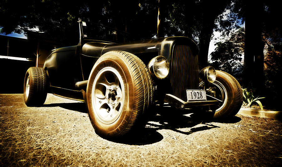 Street Rod Photograph - 1928 Ford Model A Rod by Phil motography Clark