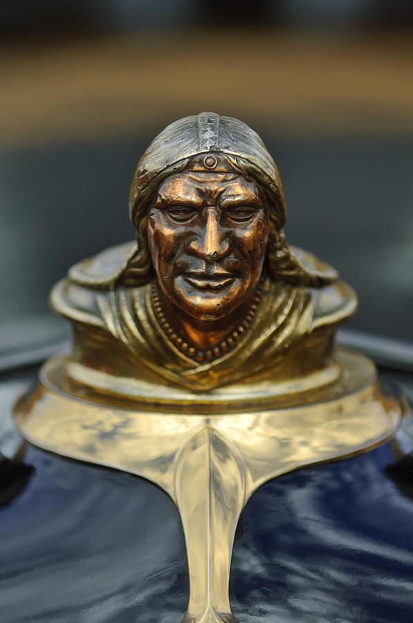 Hood Ornament Photograph - 1928 Pontiac Hood Ornament  by Jill Reger