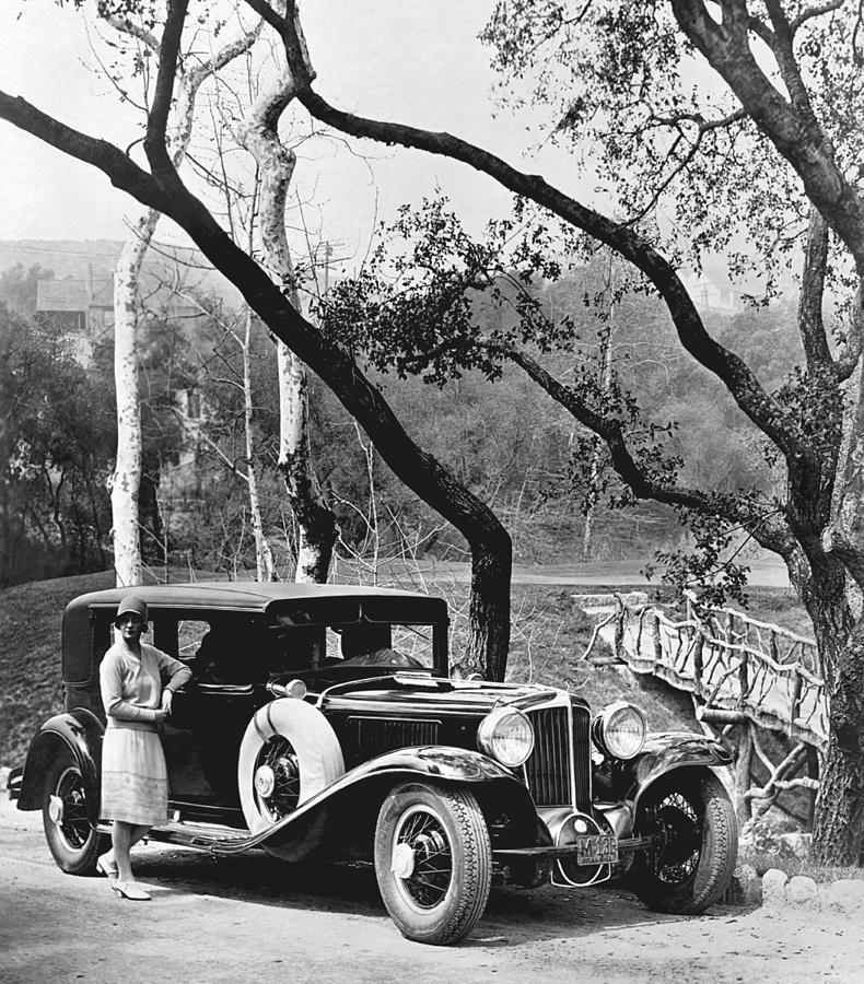 1920s Photograph - 1929 Auburn Sedan by Underwood Archives