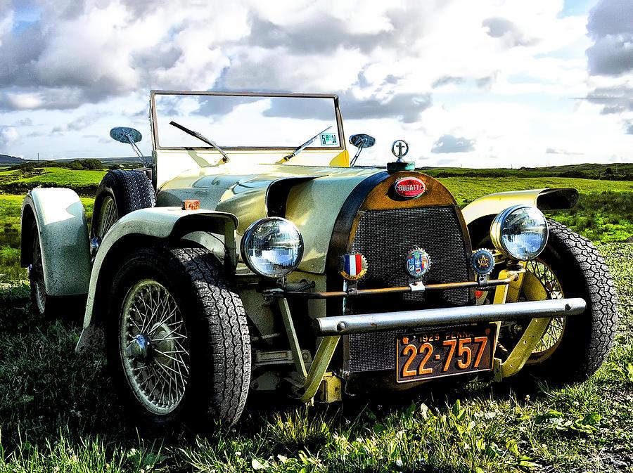 French Photograph - 1929 Bugatti by Bill Cannon