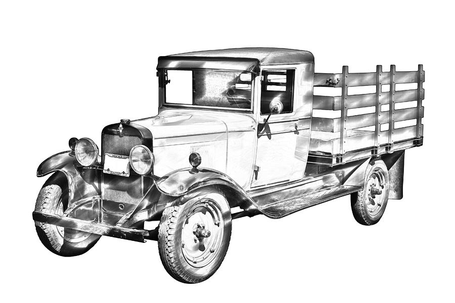 HP PartList as well Wiring together with Nos truck parts besides P84162 also 1929 Chevy Truck 1 Ton Stake Body Drawing Keith Webber Jr. on 1929 dodge pickup