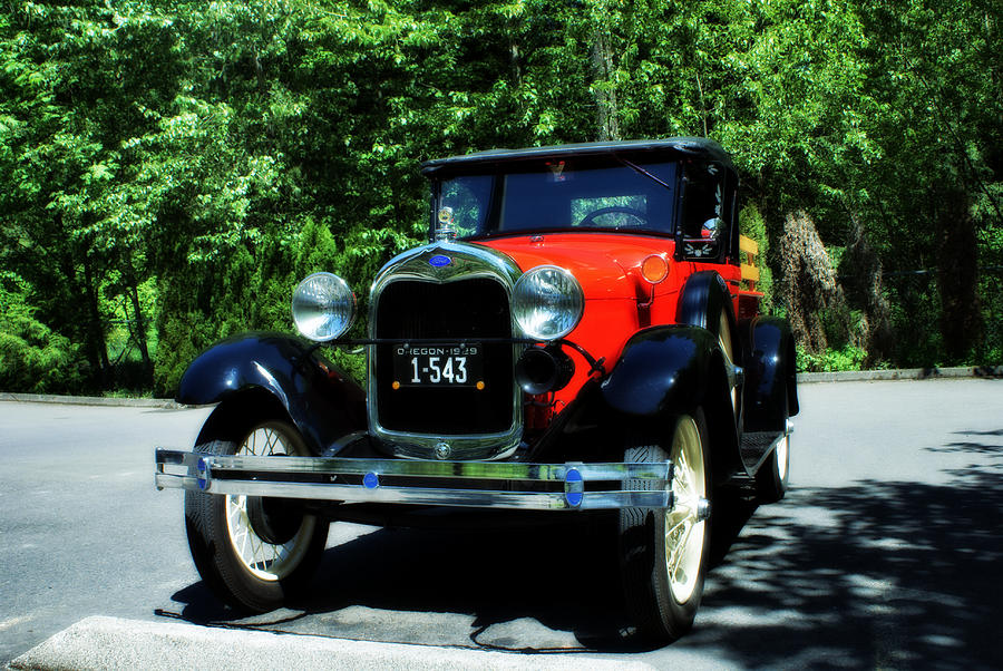 1929 Photograph - 1929 Ford by John Winner