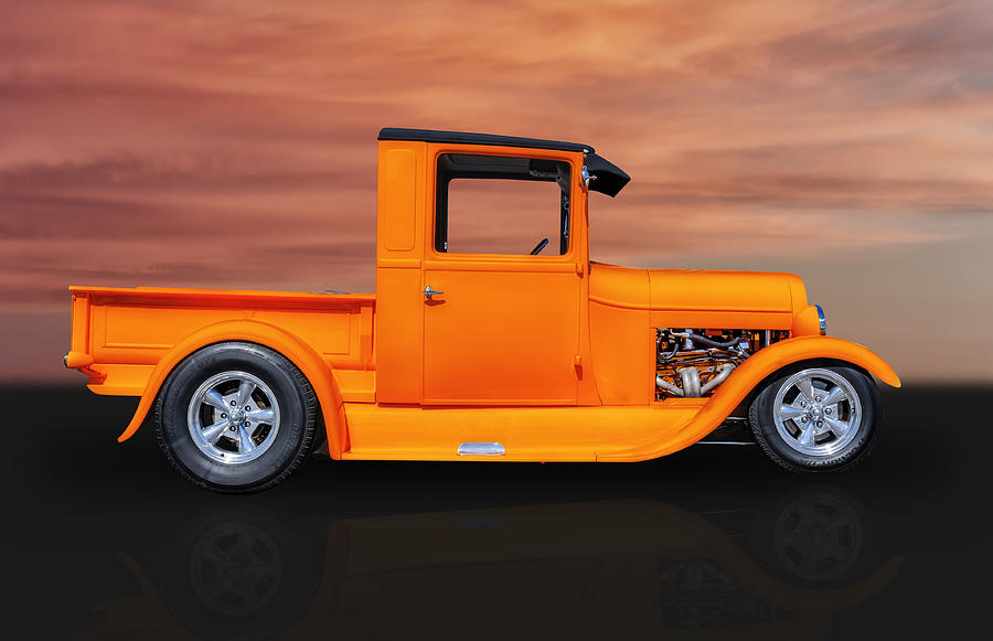 1929 Ford Pickup Truck Photograph By Frank J Benz