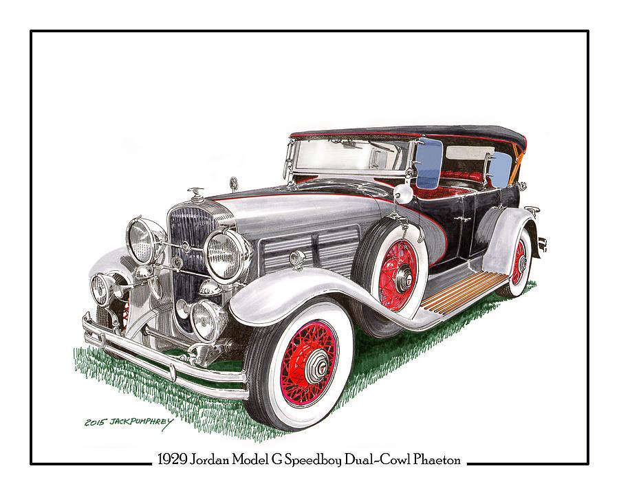 1929 Jordan Model G Dual Cowl Phaeton by Jack Pumphrey
