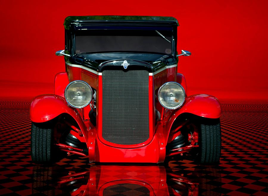 1930 Chevrolet Custom Sedan Hot Rod Photograph by Tim McCullough