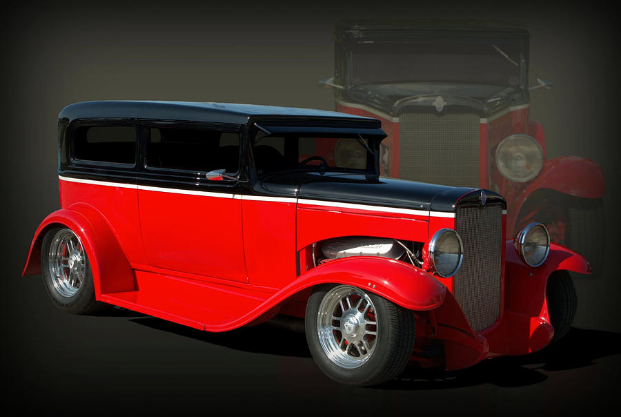 1930 Chevrolet Sedan Hot Rod Photograph by Tim McCullough