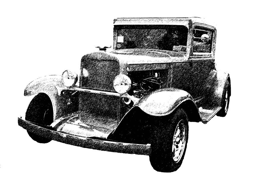 Automobile Photograph - 1930 Chevy by Guy Whiteley