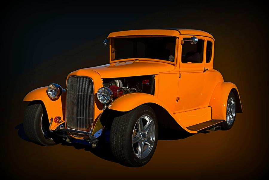 1930 Ford Hot Rod Coupe Photograph by Tim McCullough