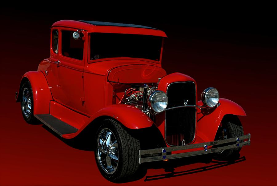 1930 ford model a coupe hot rod photograph by tim mccullough. Black Bedroom Furniture Sets. Home Design Ideas