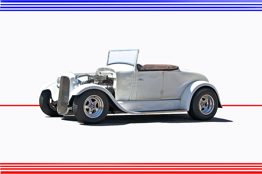 Coupe Photograph - 1930 Ford Model A Roadster I by Dave Koontz