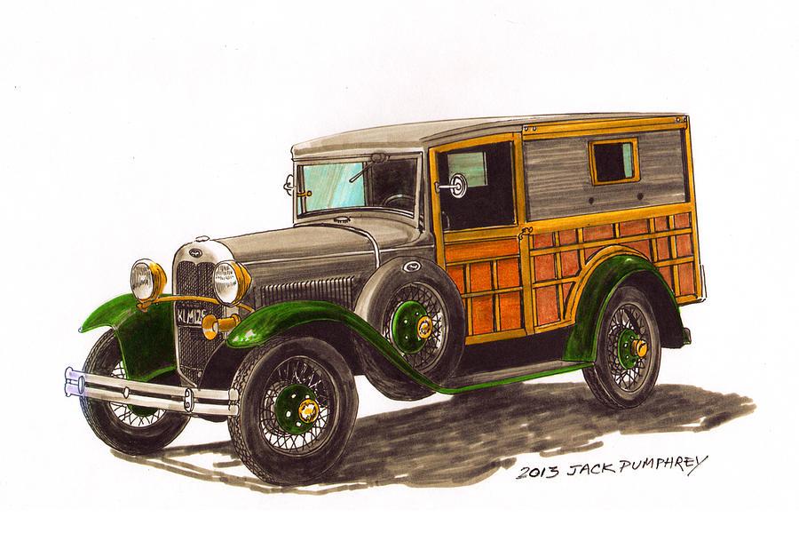 Ford Model T Car Jack
