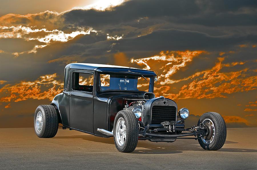Coupe Photograph - 1930 Hudson Hod Rod I by Dave Koontz