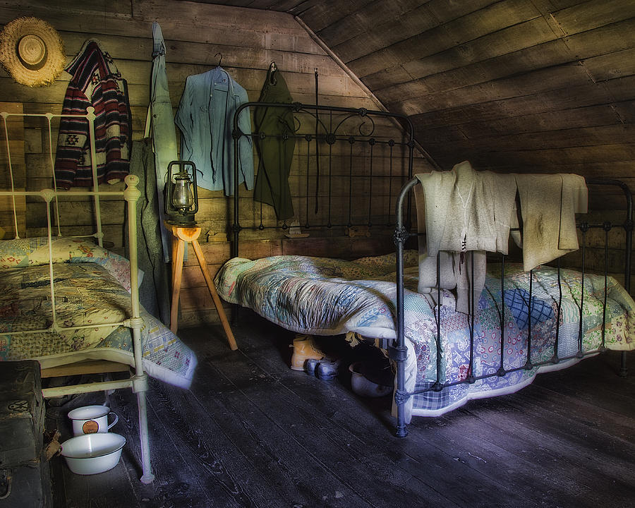 1930 S Country Bedroom Photograph By Steve Hurt