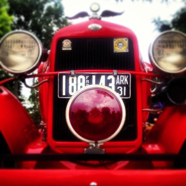 1931 Ford Fire Engine - Love That Photograph by Design Turnpike