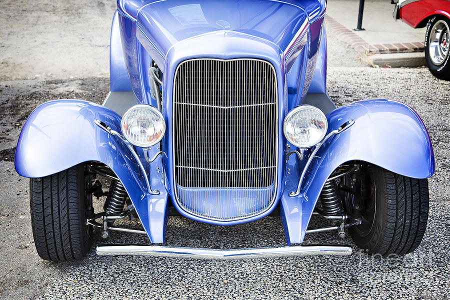 1931 Ford Model A Front End Classic Car In Color 3214.02 Photograph ...