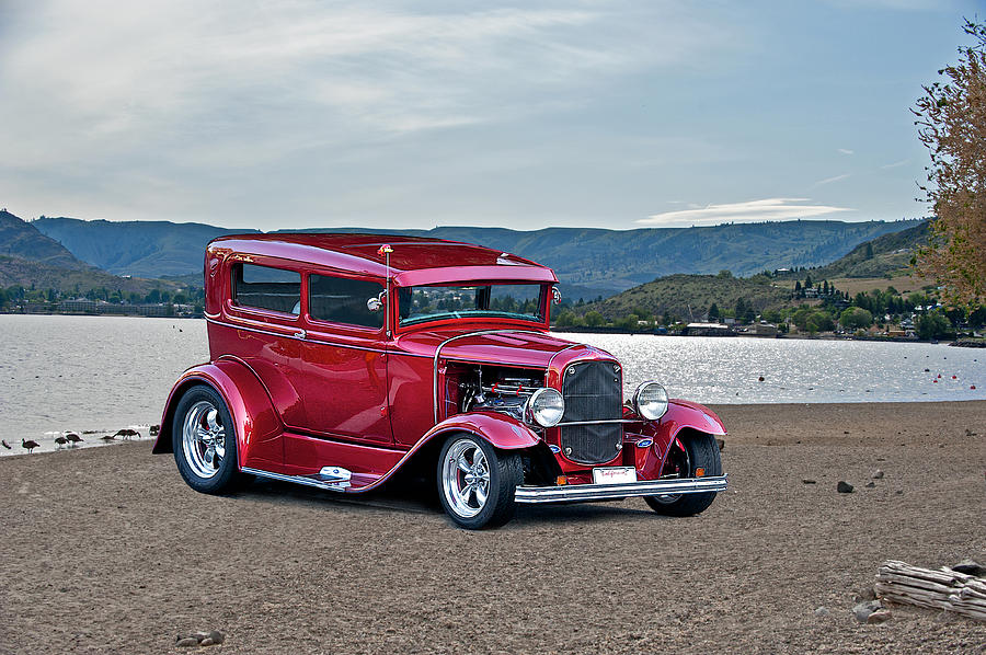 Coupe Photograph - 1931 Ford Model A Sedan by Dave Koontz